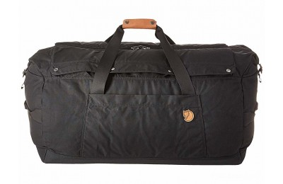 last chance fjällräven duffel no.6 large black limited sale best price