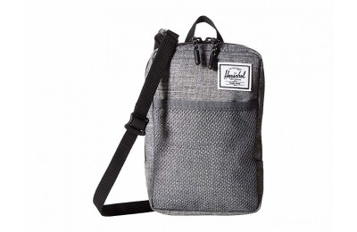 best price herschel supply co. sinclair large raven crosshatch limited sale last chance