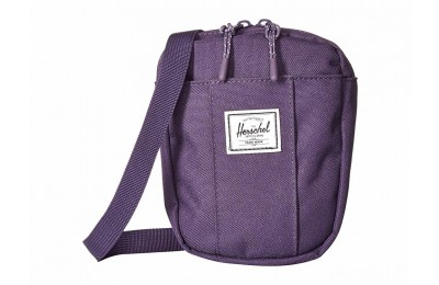 best price herschel supply co. cruz purple velvet limited sale last chance