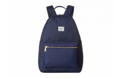 best price herschel supply co. nova mid-volume medieval blue crosshatch/medieval last chance limited sale