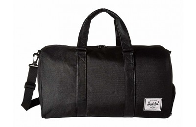 last chance herschel supply co. novel black/black 1 best price limited sale