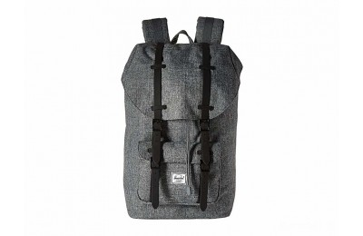 last chance herschel supply co. little america raven crosshatch/black rubber best price limited sale