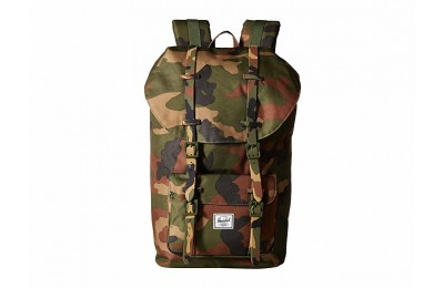 limited sale herschel supply co. little america woodland camo best price last chance
