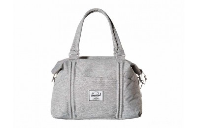 last chance herschel supply co. strand light grey crosshatch best price limited sale