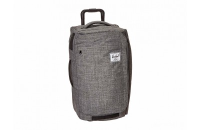 last chance herschel supply co. wheelie outfitter 50l raven crosshatch limited sale best price