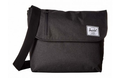 best price herschel supply co. odell black crosshatch last chance limited sale