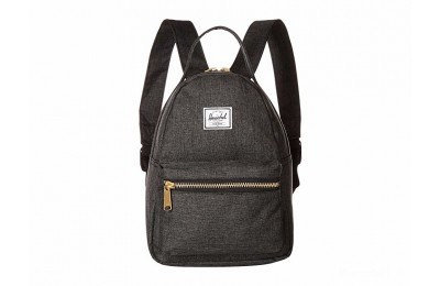 last chance herschel supply co. nova mini black crosshatch best price limited sale