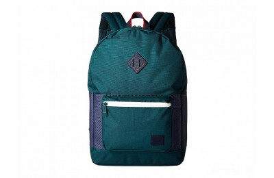 last chance herschel supply co. ruskin deep teal/peacoat/barbados cherry best price limited sale