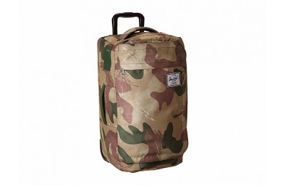 last chance herschel supply co. wheelie outfitter 50l brushstroke camo best price limited sale