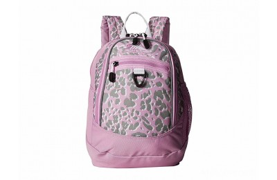 best price high sierra mini fatboy backpack shadow leopard/iced lilac/white limited sale last chance