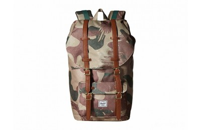 best price herschel supply co. little america brushstroke camo limited sale last chance