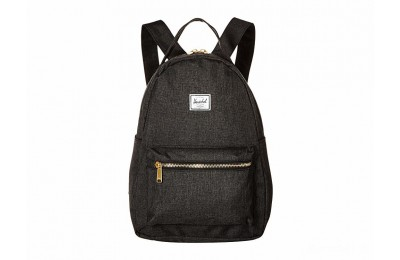 best price herschel supply co. nova x-small black crosshatch limited sale last chance