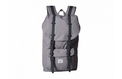 last chance herschel supply co. little america mid grey crosshatch best price limited sale