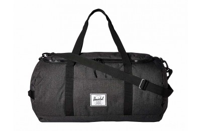 limited sale herschel supply co. sutton black crosshatch/black last chance best price