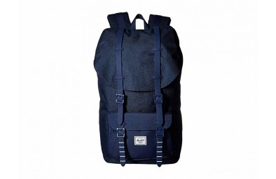 best price herschel supply co. little america medieval blue crosshatch/medieval 1 last chance limited sale