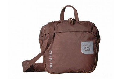 last chance herschel supply co. ultralight crossbody saddle brown limited sale best price