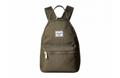 limited sale herschel supply co. nova mini olive night crosshatch/olive best price last chance