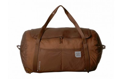 best price herschel supply co. ultralight duffel saddle brown last chance limited sale