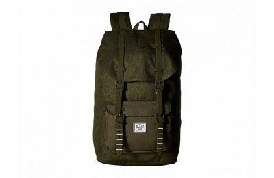 last chance herschel supply co. little america olive night crosshatch/olive best price limited sale
