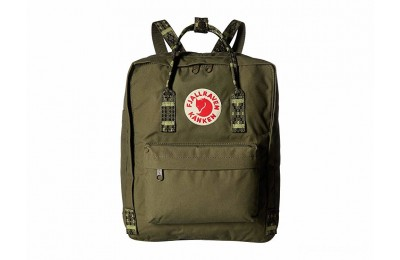 last chance fjällräven kånken green/folk pattern best price limited sale