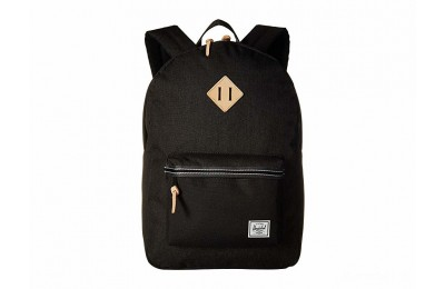 best price herschel supply co. heritage black crosshatch/black 2 last chance limited sale