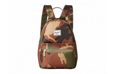 last chance herschel supply co. nova mini woodland camo limited sale best price