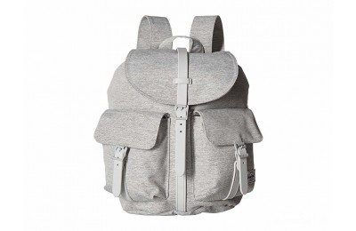 last chance herschel supply co. dawson x-small light grey crosshatch limited sale best price