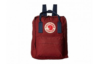 best price fjällräven kånken mini ox red/royal blue limited sale last chance
