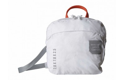 best price herschel supply co. ultralight crossbody white limited sale last chance