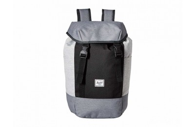limited sale herschel supply co. iona mid grey crosshatch/black/light crosshatch best price last chance