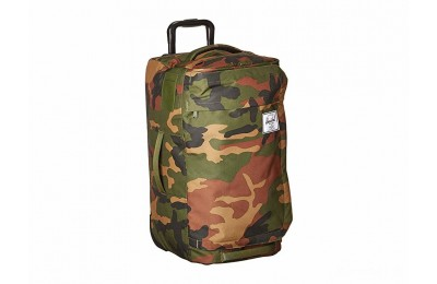 limited sale herschel supply co. wheelie outfitter 50l woodland camo best price last chance