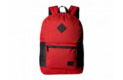 limited sale herschel supply co. ruskin barbados cherry crosshatch/black last chance best price
