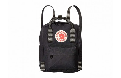 best price fjällräven kånken mini black/striped limited sale last chance