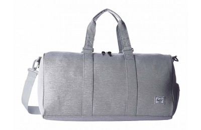 limited sale herschel supply co. novel mid-volume light grey crosshatch last chance best price
