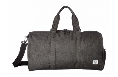 last chance herschel supply co. novel mid-volume black crosshatch best price limited sale