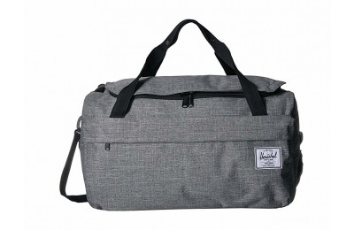 best price herschel supply co. outfitter luggage 50 l raven crosshatch limited sale last chance
