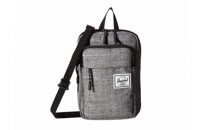 limited sale herschel supply co. form crossbody large raven crosshatch last chance best price