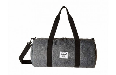 limited sale herschel supply co. sutton mid-volume raven crosshatch/black best price last chance