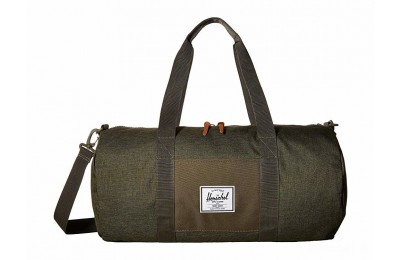 last chance herschel supply co. sutton mid-volume olive night crosshatch/olive limited sale best price
