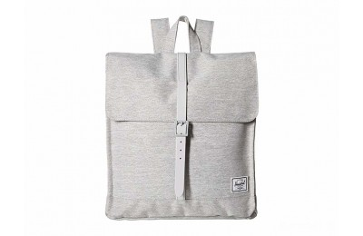 last chance herschel supply co. city mid-volume light grey crosshatch/grey rubber limited sale best price