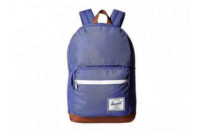 limited sale herschel supply co. pop quiz deep ultramarine/tan synthetic leather best price last chance