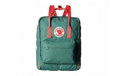 best price fjällräven kånken frost green/peach pink last chance limited sale