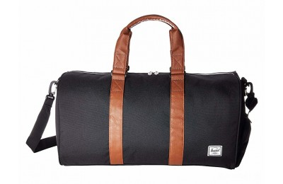 limited sale herschel supply co. novel mid-volume black/tan synthetic leather last chance best price