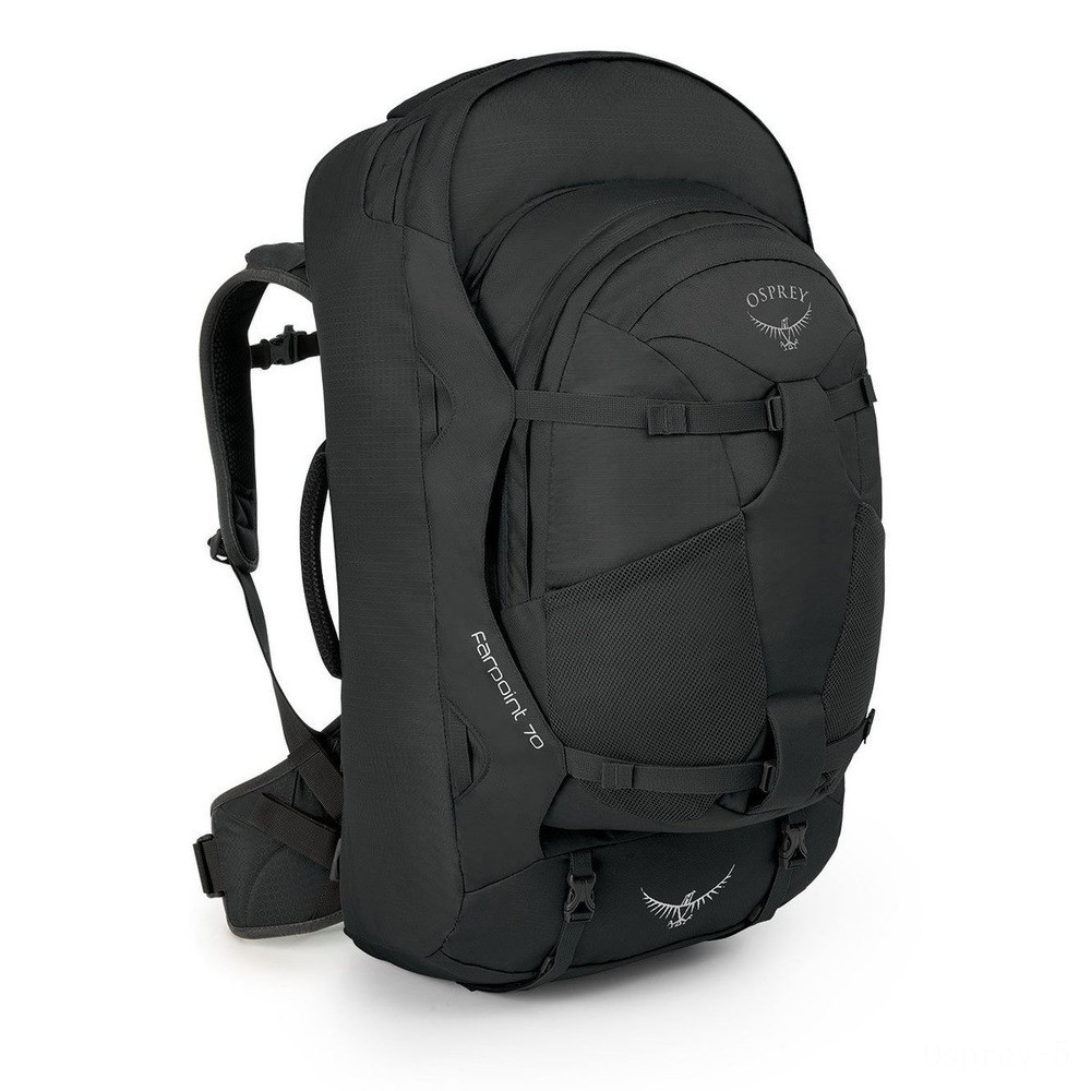 limited sale osprey farpoint 70 trekking backpack – 67 l  volcanic grey best price last chance