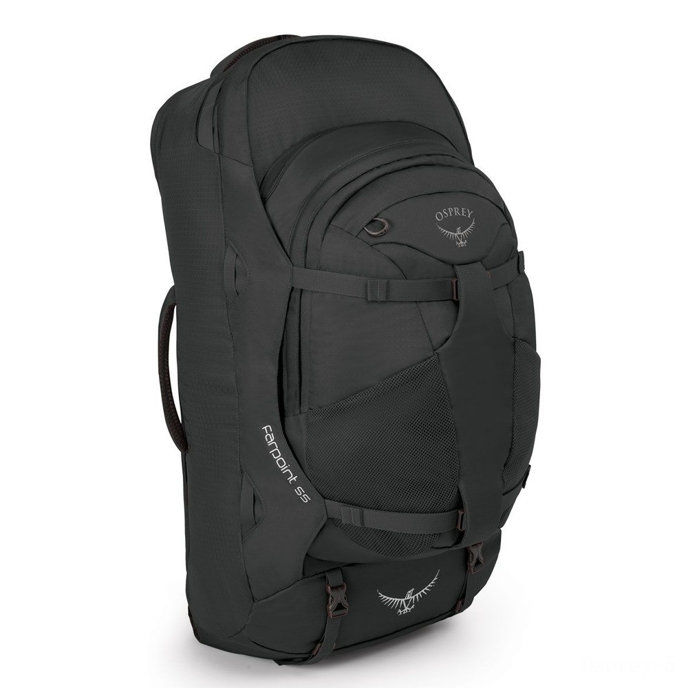 best price osprey farpoint trekking backpack – 55 l  volcanic grey last chance limited sale