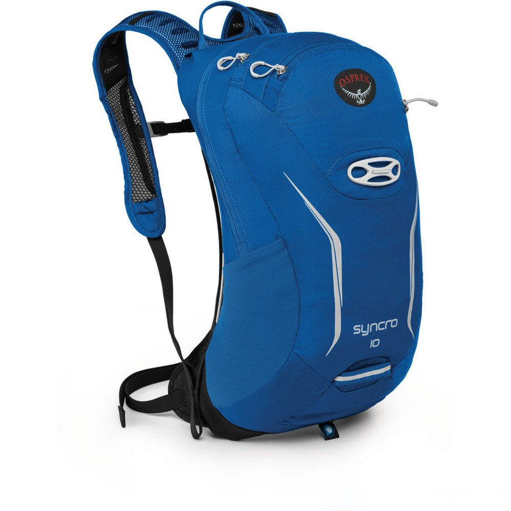 last chance osprey syncro 10 l hydration pack  blue racer best price limited sale