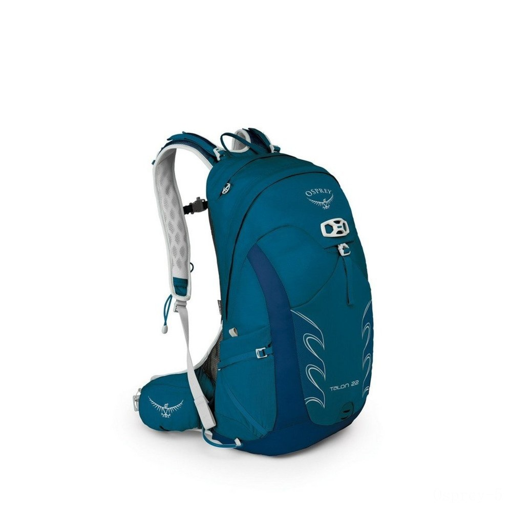 last chance osprey talon technical backpack - 22 l  ultramarine blue best price limited sale
