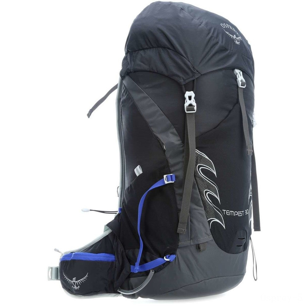 best price osprey tempest 30 pack  black limited sale last chance
