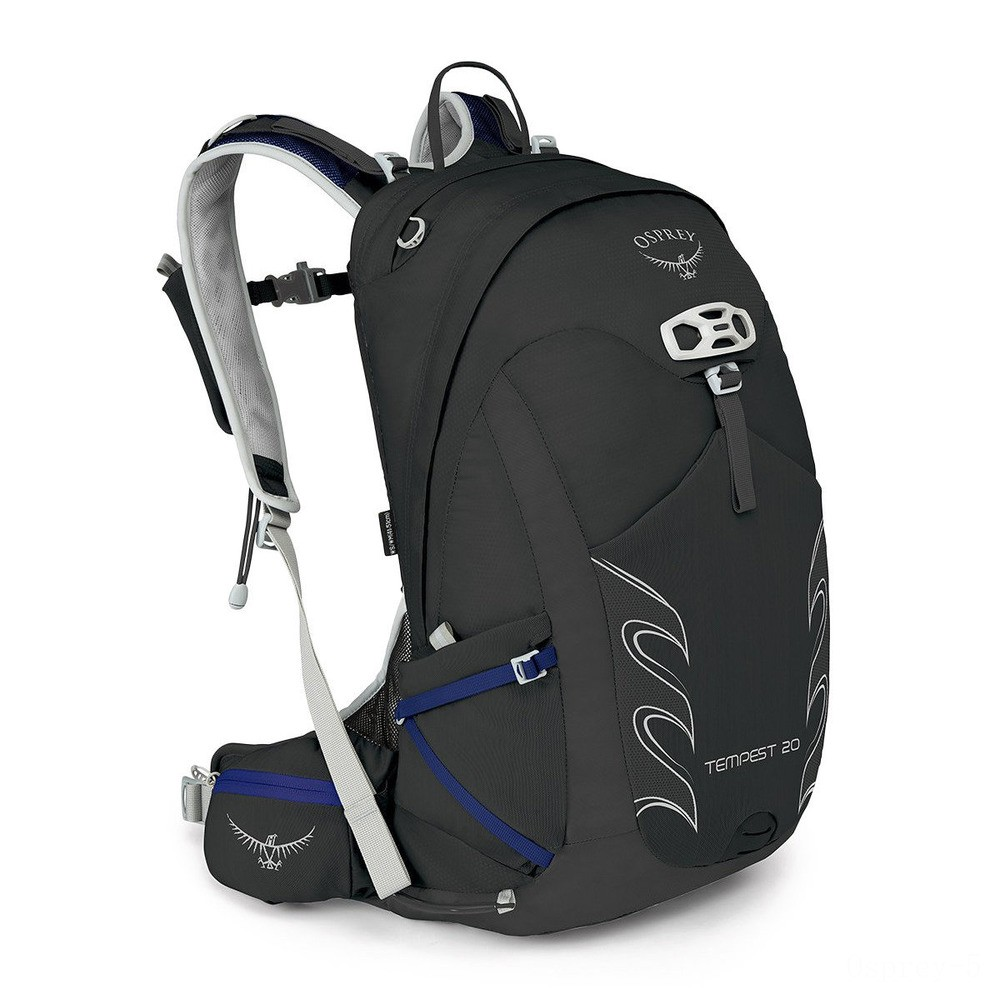 limited sale osprey tempest 20 backpack  black last chance best price