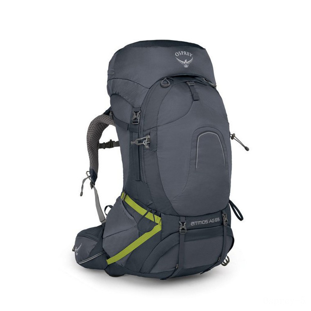 last chance osprey atmos ag 65  abyss grey best price limited sale